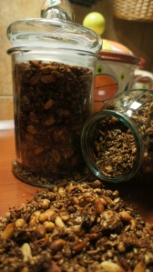 Šokoladinė granola