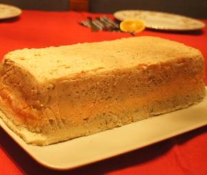 Nekeptas žuvies tortas