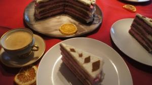 Nuvarvėjęs tortas