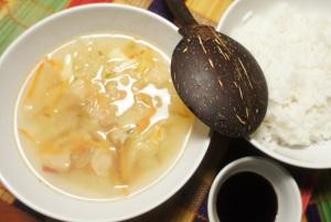 Baltųjų grybų sriuba