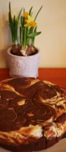 Šokoladinis pyragas su sūriu