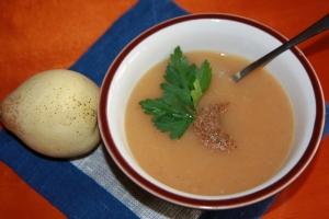 Daržovių sriuba su kriausšėmis