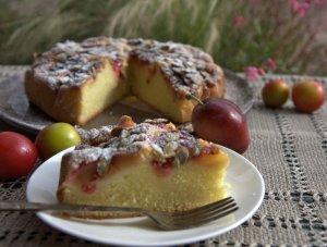 Vienos pyragas su slyvomis